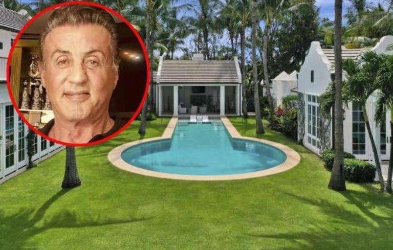 Sylvester Stallone compró una lujosa mansión en Miami y tuvo que desembolsar una fortuna