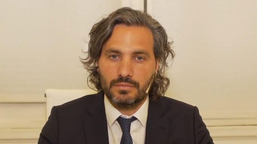 Cafiero, jefe de Gabinete 20201223
