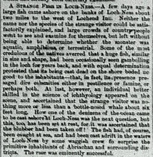 El monstruo del Lago Ness, entre la mitología y la ciencia