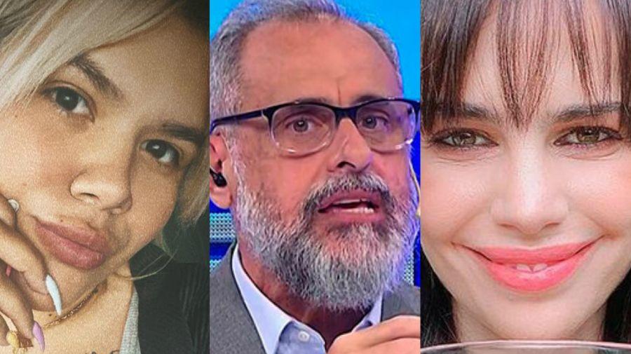 Morena, Jorge Rial y Romina Pereiro