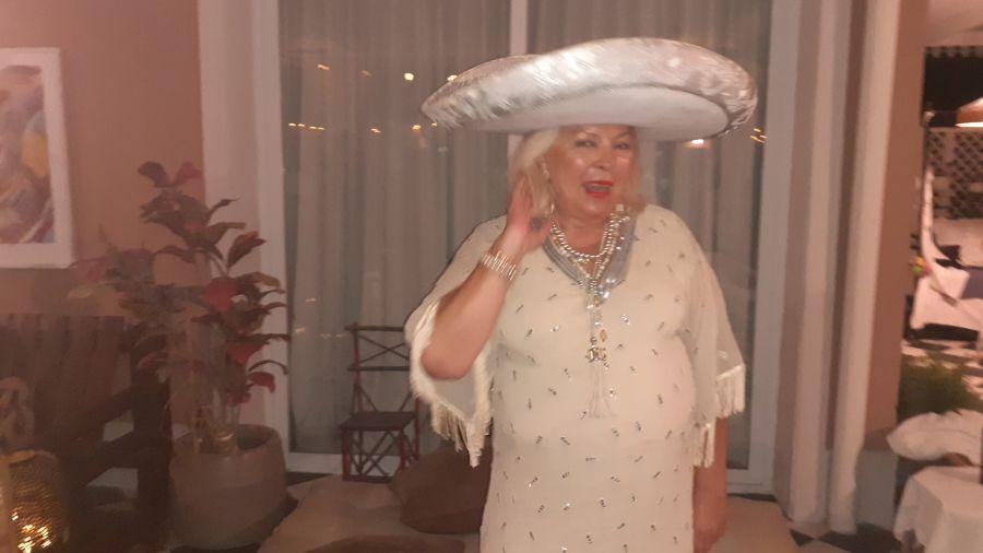 cumpleaños lilita carrio 64 años