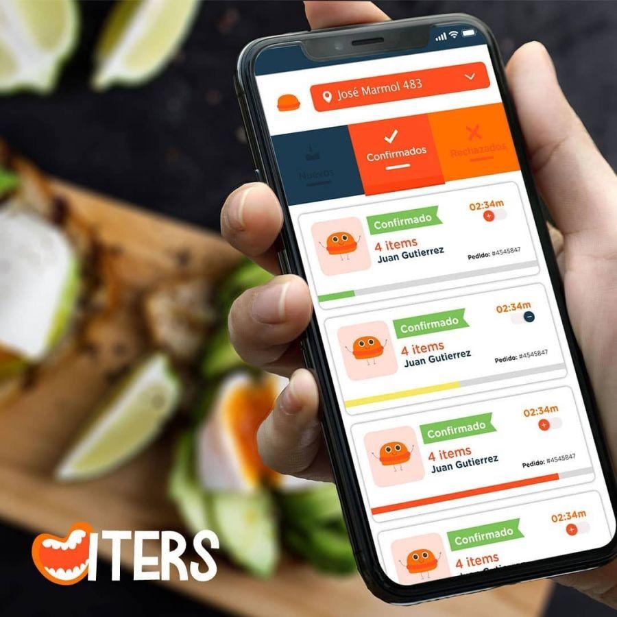 Una nueva app para pedir comida casera
