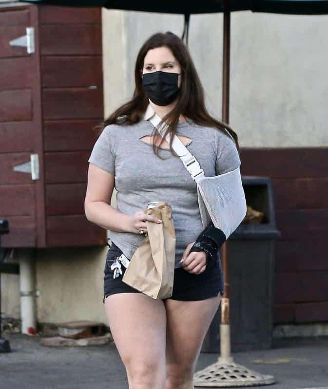 Las fotos de Lana del Rey que preocuparon a sus fans