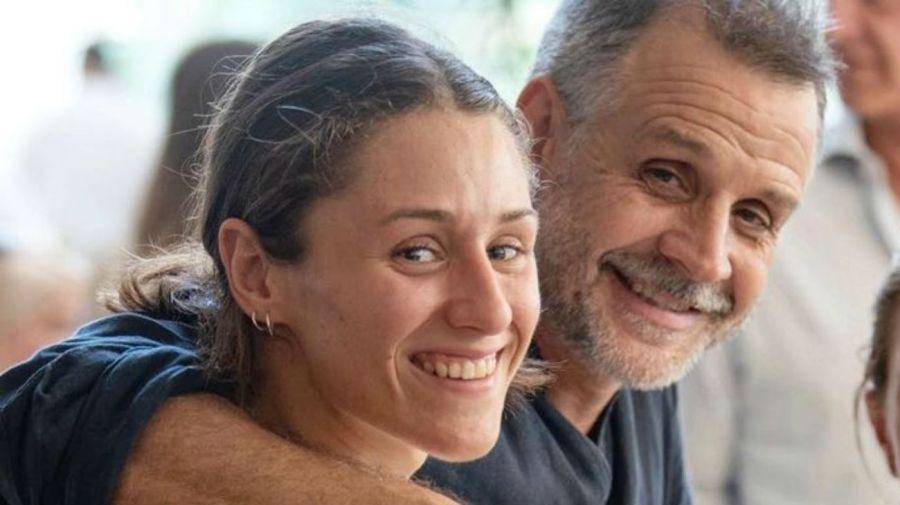 Sofia Zelaschi y Christian Petersen