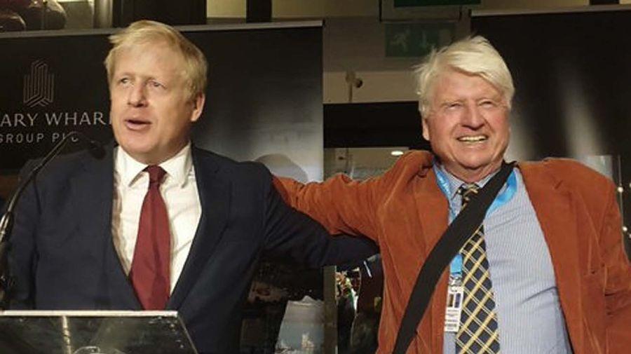 Stanley Johnson, el padre de Boris Johnson-20201231