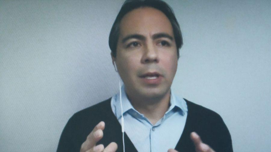 Julián Cárdenas, en la entrevista con Jorge Fontevecchia.