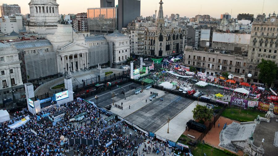 Legalización del aborto en Argentina. Cobertura fotográfica.