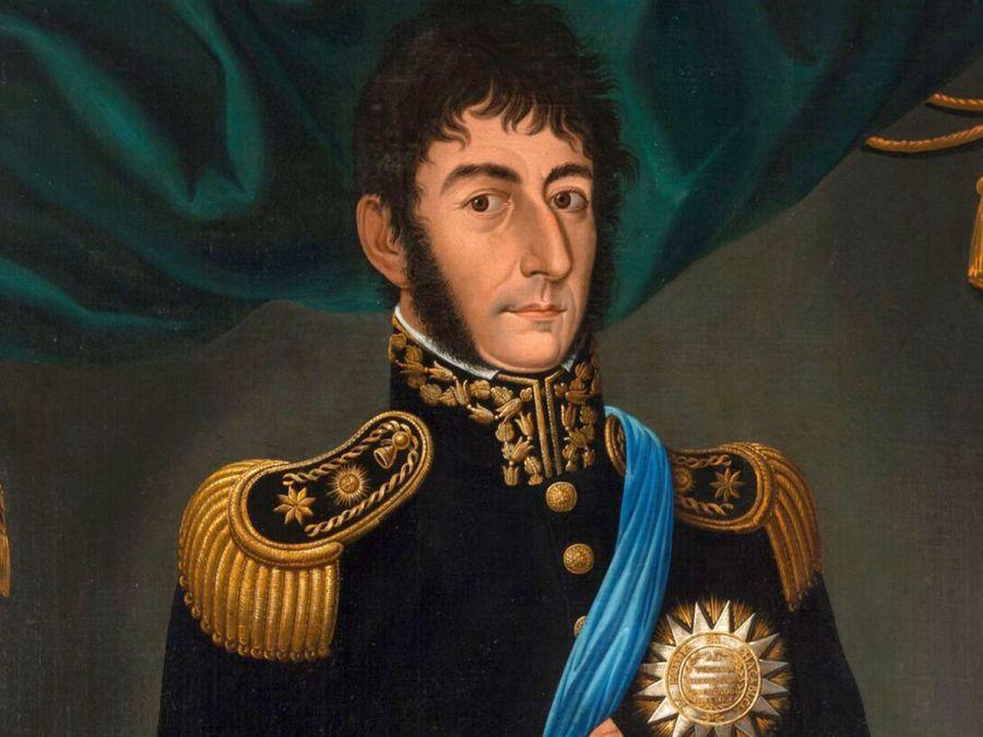 San Martín por Gil de Castro