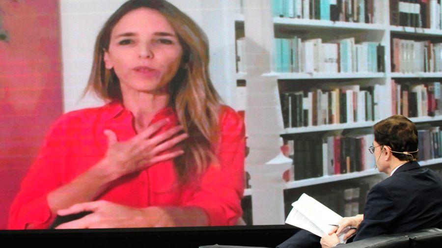 Cayetana Álvarez de Toledo, en la entrevista con Jorge Fontevecchia