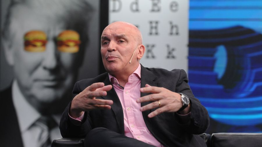 José Luis Espert, en la entrevista con Jorge Fontevecchia.