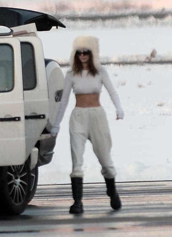 Kylie y Kendall Jenner se divierten en sus millonarias vacaciones en Aspen