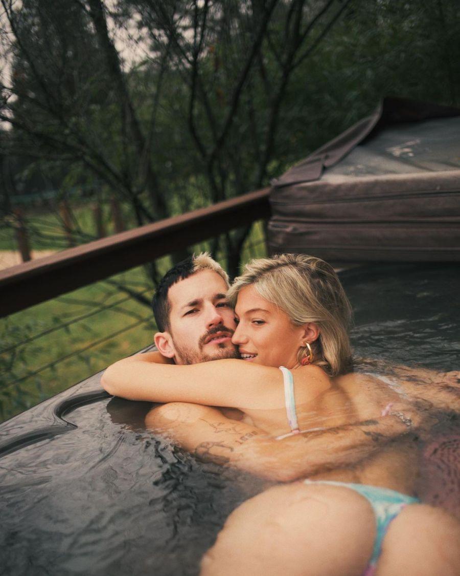 Mirá la foto hot de Stefi Roitman con Ricky Montaner en la pileta