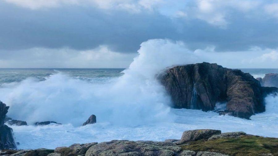 Pareja Isla Irlanda