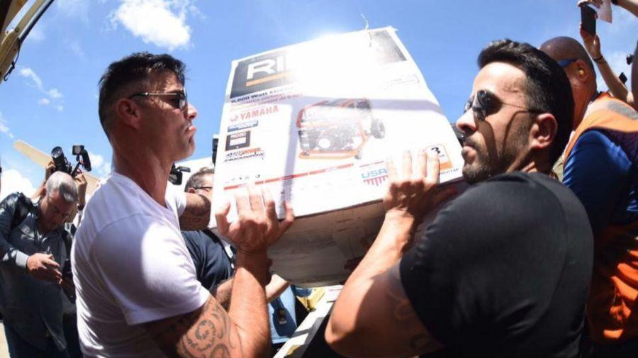 Ricky Martin ayuda a Puerto Rico