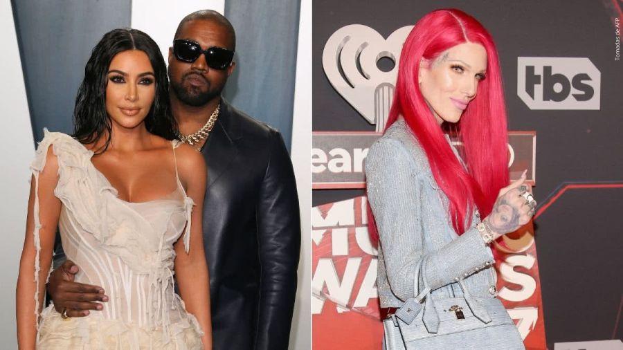 Aseguran que Kanye West engañó a Kin Kardashian con Jeffree Star