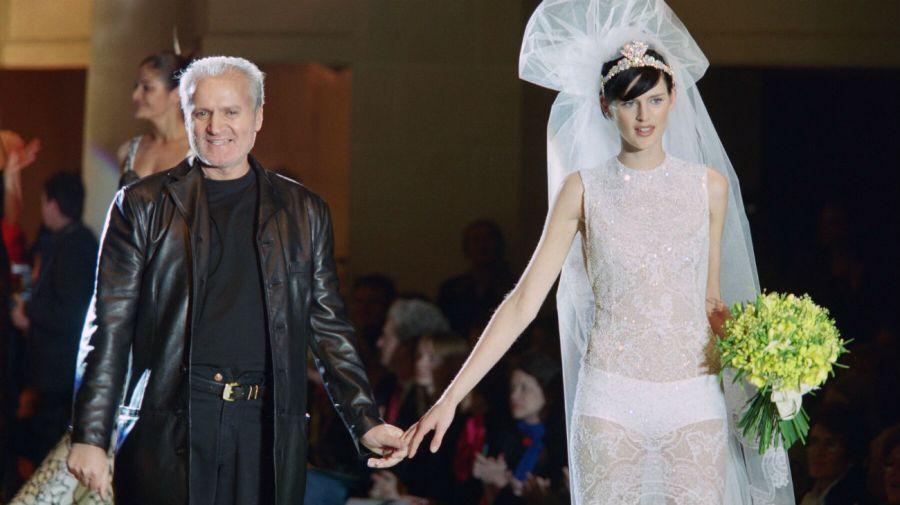 Versace y Stella Tennant