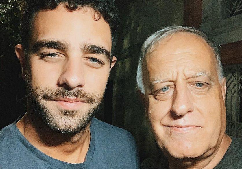 Diego Poggi y el posteo que cobra especial significado tras la reacción de su padre