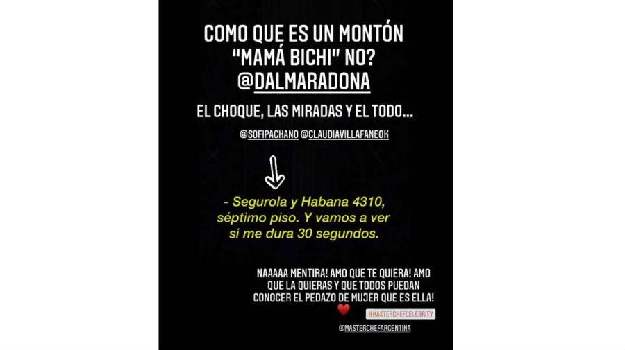 gianinna maradona 0801