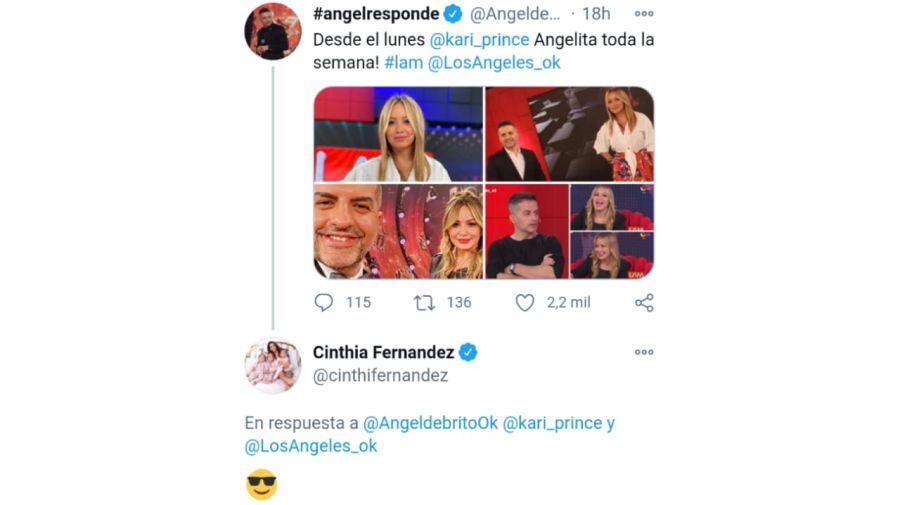 Cinthia Fernández tuit 09012021