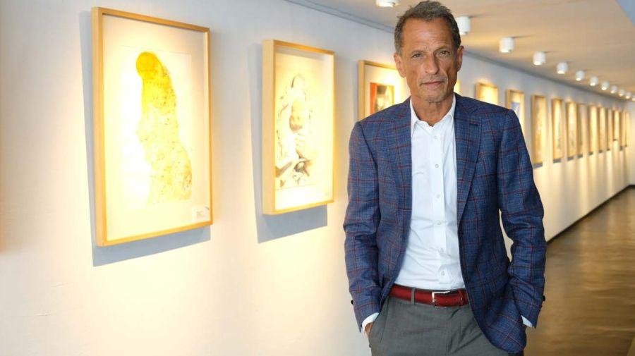 Claudio Belocopitt, en la entrevista con Jorge Fontevecchia.