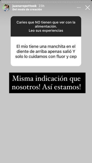 Juana Repetto reveló la afección de salud que presenta Toribio