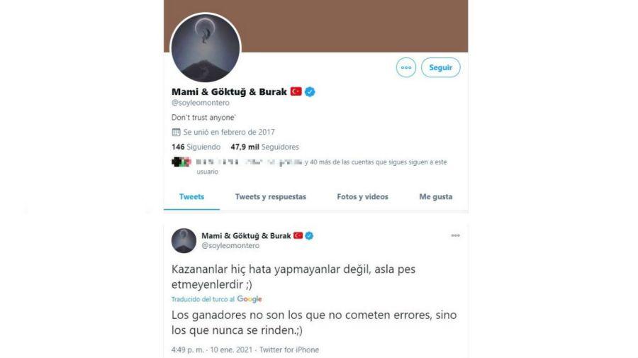 Leo Montero cuenta twitter