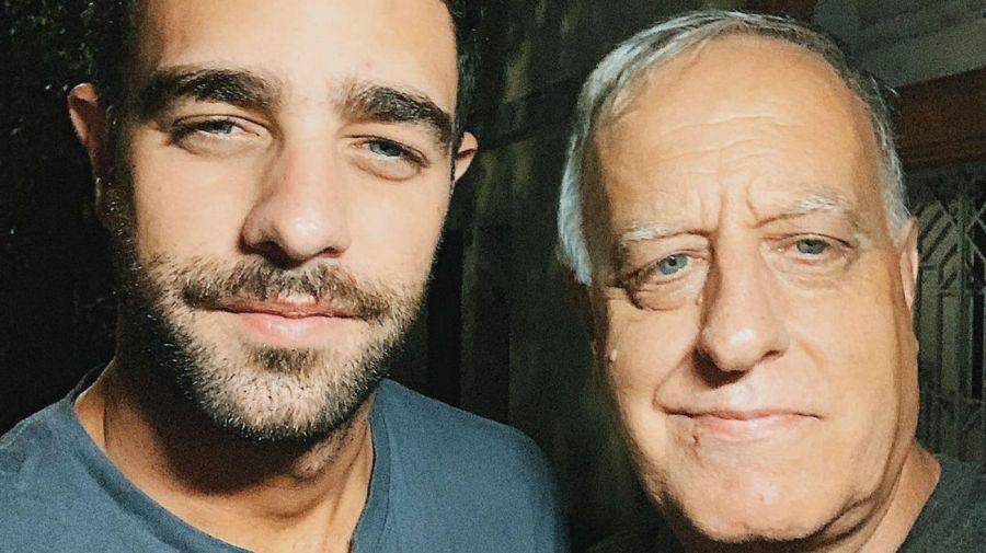 Diego Poggi y su padre Hector