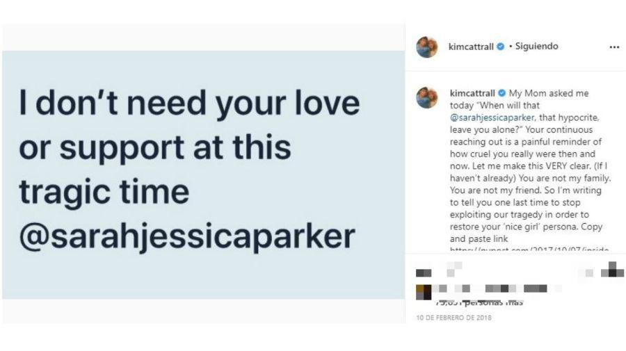 Kim Cattrall contra Sarah Jessica Parker