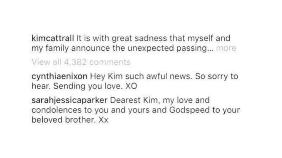 Mensaje Sarah Jessica Parker a Kim Cattrall