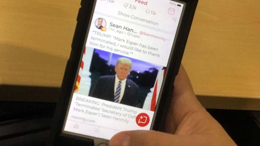 Parler, la red social de los seguidores de Trump que fue desactivada en EEUU 20210111