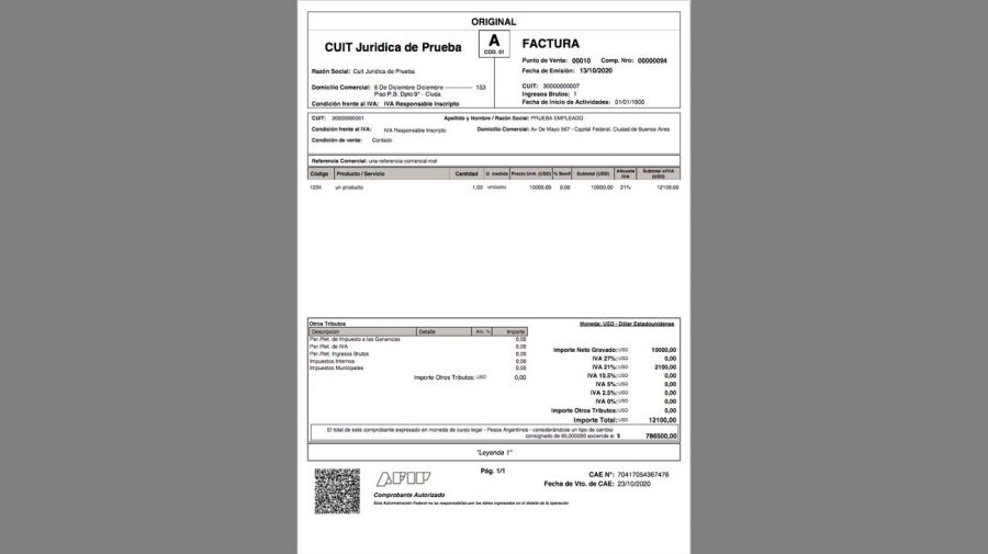 facturas 20210112