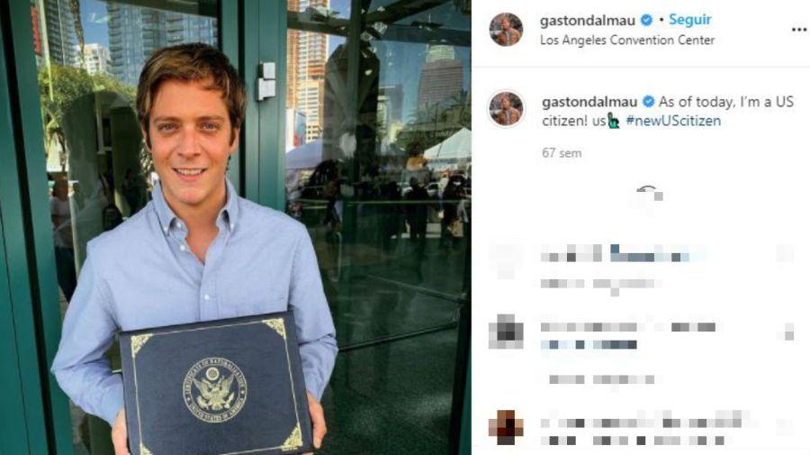 Gaston Dalmau - ciudadano estadounidense