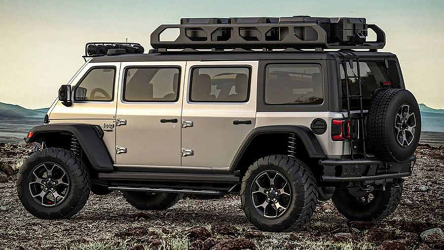 Jeep Wrangler by Samid Sadikhov (Proyección Samir Customs - Instagram)