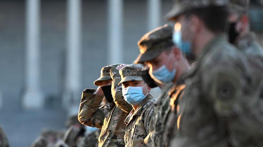Congreso de EEUU militarizado 20210113