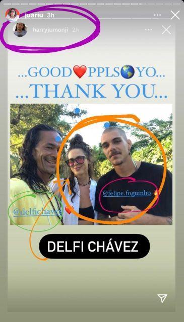 Delfina Chaves fue involucrada amorosamente con un galán