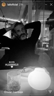 Lali Esposito tuvo una cita con un galán argentino en Madrid