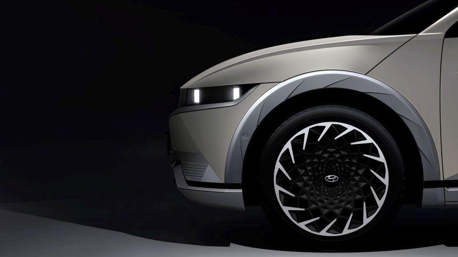 Primeras imágenes del nuevo SUV eléctrico de Hyundai