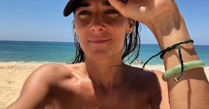 Contorsionismo en bikini: Juana Viale mostró sus habilidades