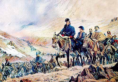 Cruces de los Andes del general José de San Martín