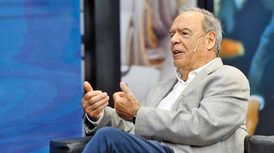 Roque Fernández, en la entrevista con Jorge Fontevecchia.