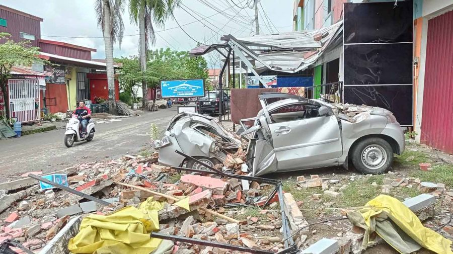 sismo en Indonesia 20210115