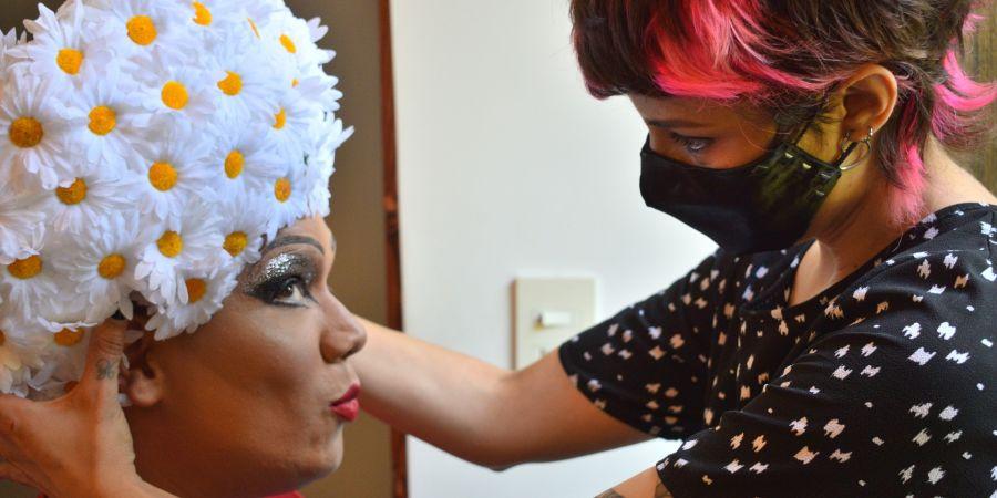 Amal, la drag queen que es la nueva reina del bolero