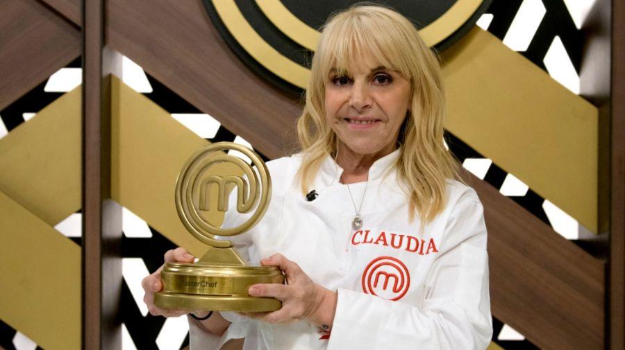 Claudia Villafañe ganó MasterChef Celebrity