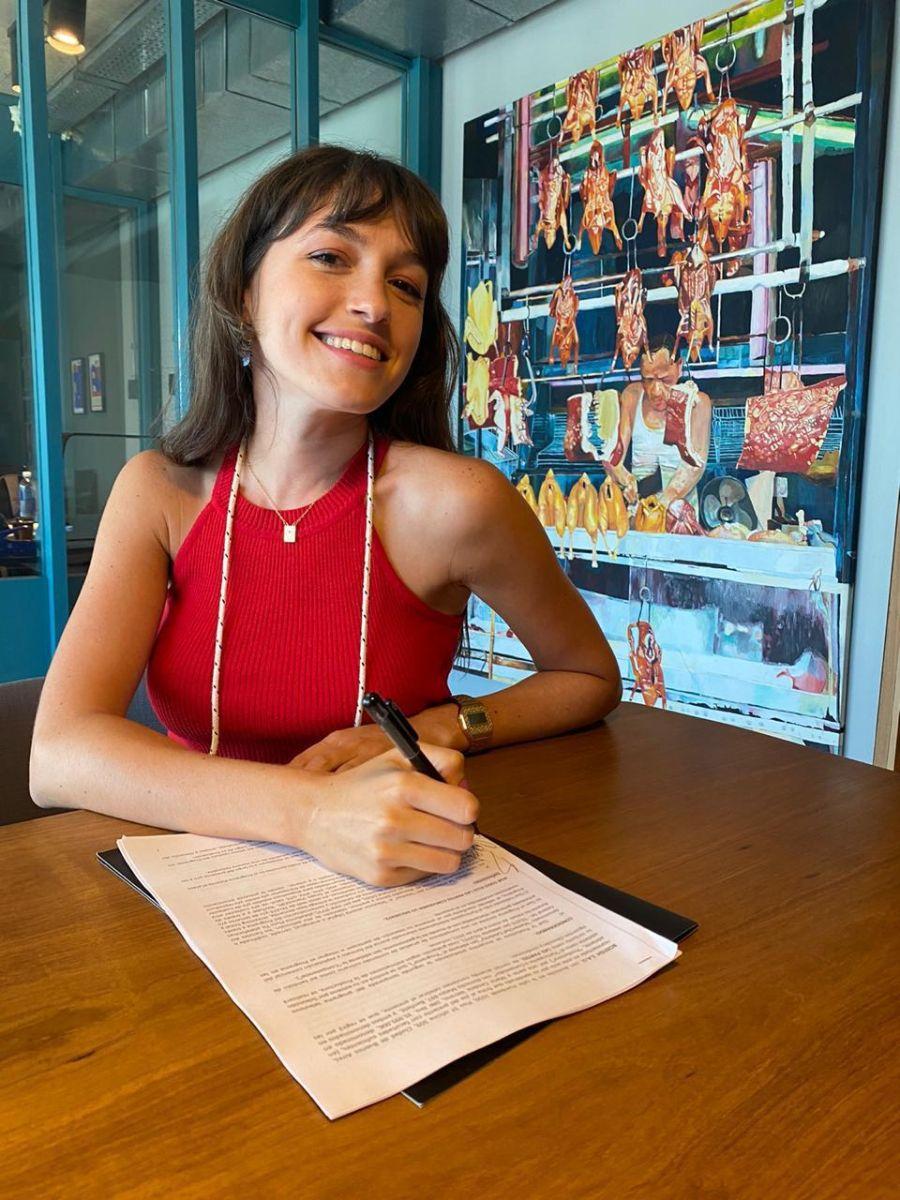 Candela Vetrano es la nueva incorporación a MasterChef Celebrity segunda edición