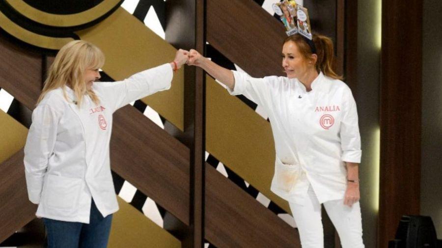 Claudia Villafañe y Analia Franchin