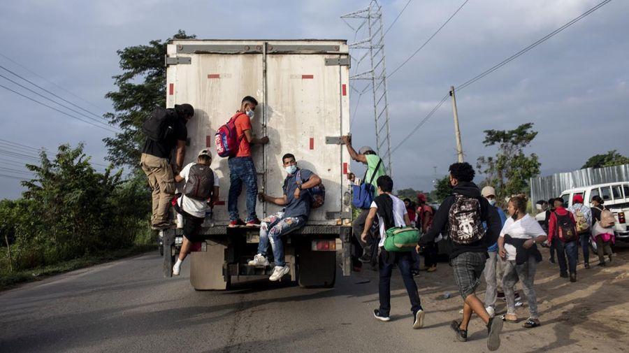 Guatemala migrantes 20210119