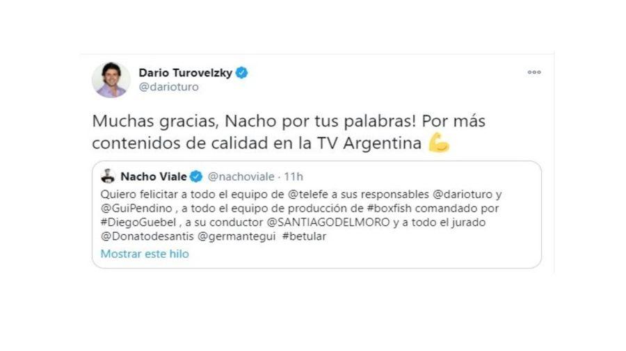 Respuesta Turovelzky a Nacho Viale