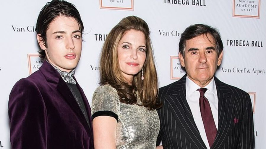 Stephanie Seymour, Harry Brant y Peter M Brant
