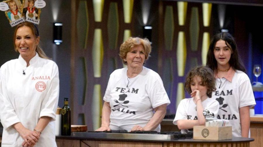 Analia Franchin en la final de MasterChef Celebrity