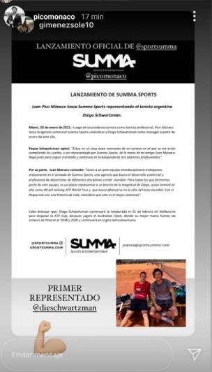 Tras el embarazo de Pampita, Pico Mónaco hizo un importante cambio en su carrera